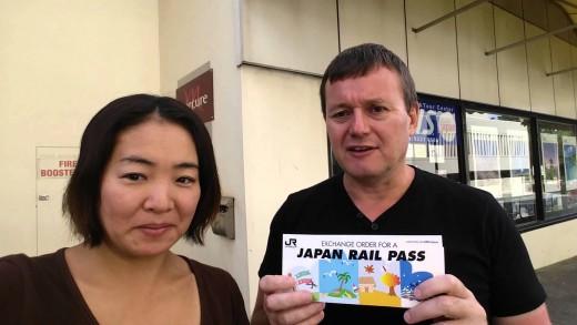 Japan Rail Pass Exchange Order