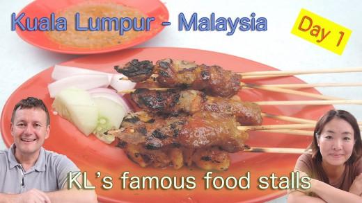 Arrive in Kuala Lumpur