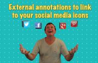 Youtube social media icons