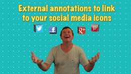 Youtube social media icons