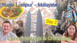 Kuala Lumpur food and caves