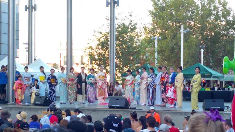 perth japan festival kimono