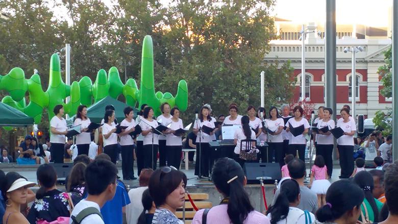 perth japan festival singing