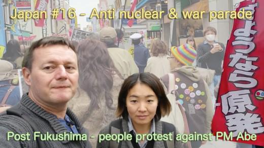 Fukushima anti nuclear protest