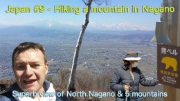 Hiking in Obuse Nagano