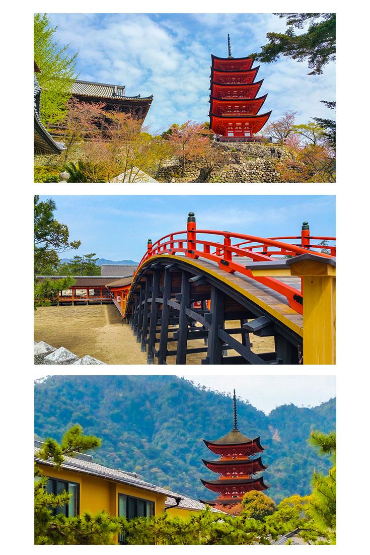 Miyajima Island Pagoda