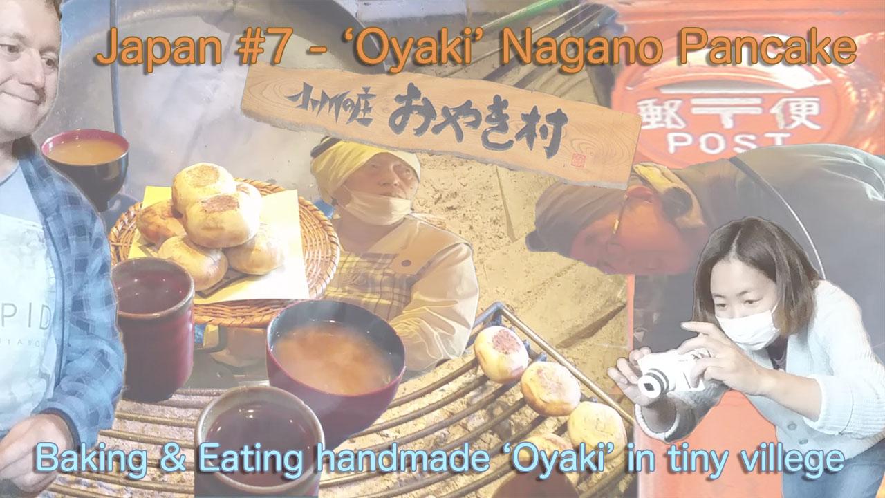 Famous Nagano Japan pancake