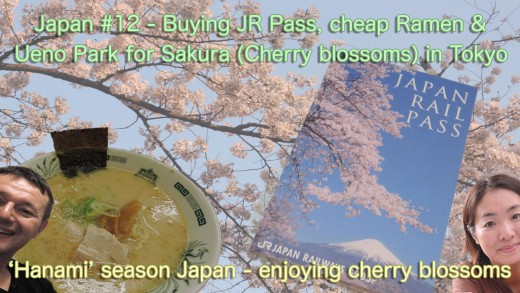 JR Pass plus Ueno Hanami
