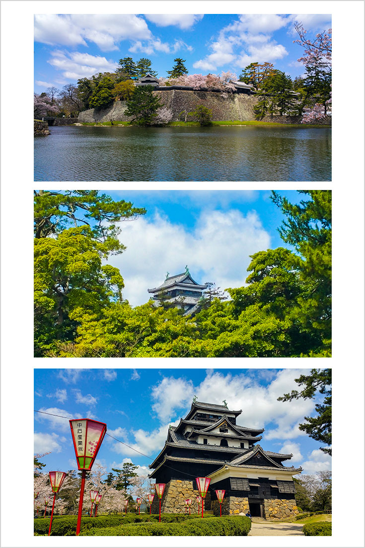 Visiting the famous Matuse castle in Japan.