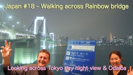 Walking across Rainbow bridge