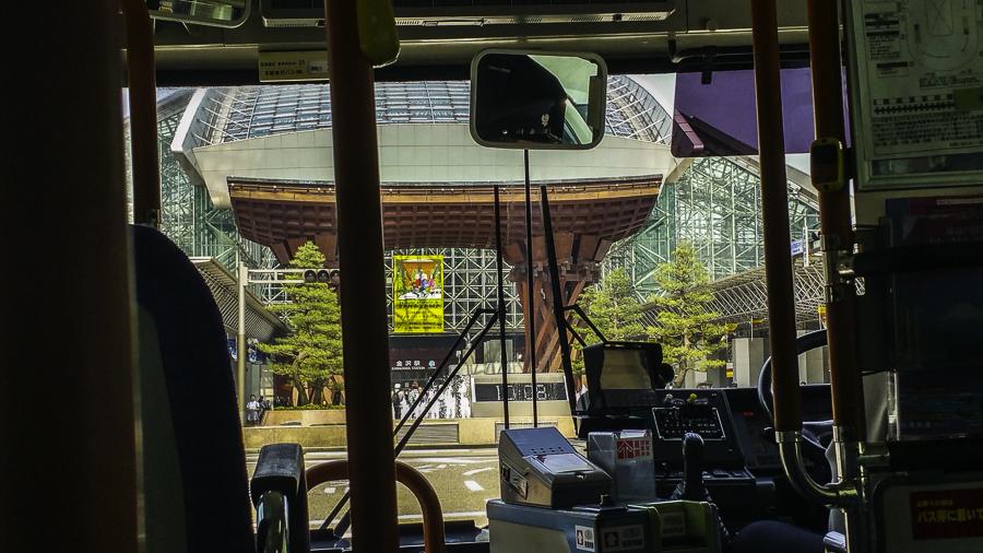 Bus to Kanazawa Station