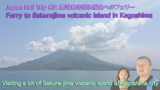 Live Kagoshima volcano